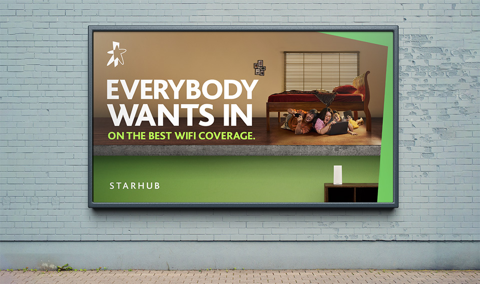The Secret Little Agency Singapore demonstrates how badly people want in on StarHub's WiFi