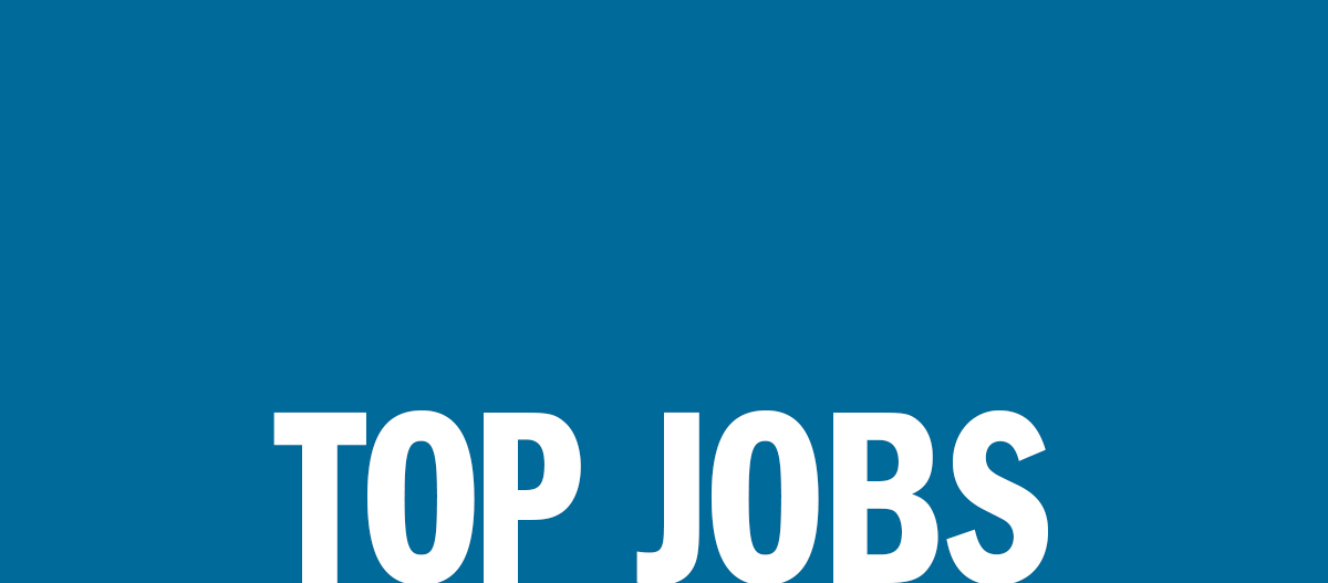 Top Jobs: This week's employment opportunities