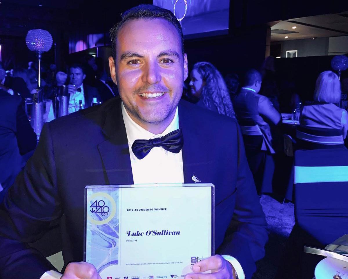 Initiative's O'Sullivan a 2019 40 under 40 winner