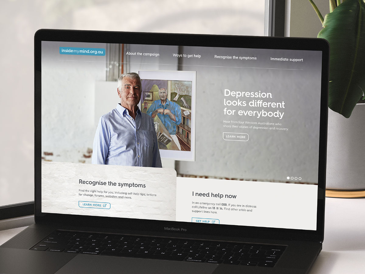 Rare launches powerful new depression campaign for WA Primary Health Alliance