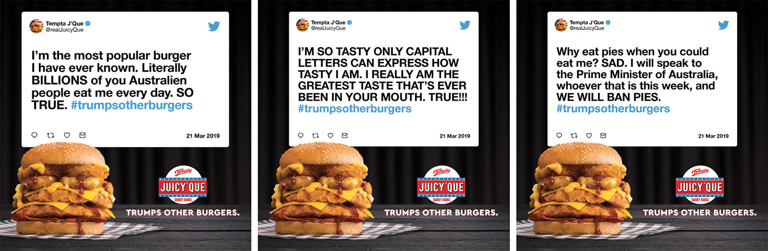 Chicken Treat &Partners launch The Tempta Juicy 'Que Range – the burger to trump all burgers