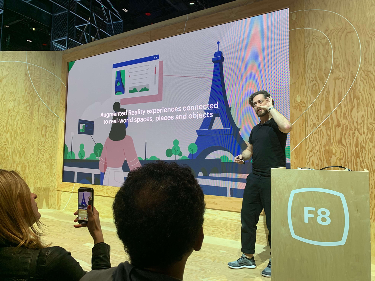 """""""We're working on it"""": MARKETFORCE'S CHRIS ANDRAWES @ F8 FACEBOOK CONFERENCE – DAY 2"""