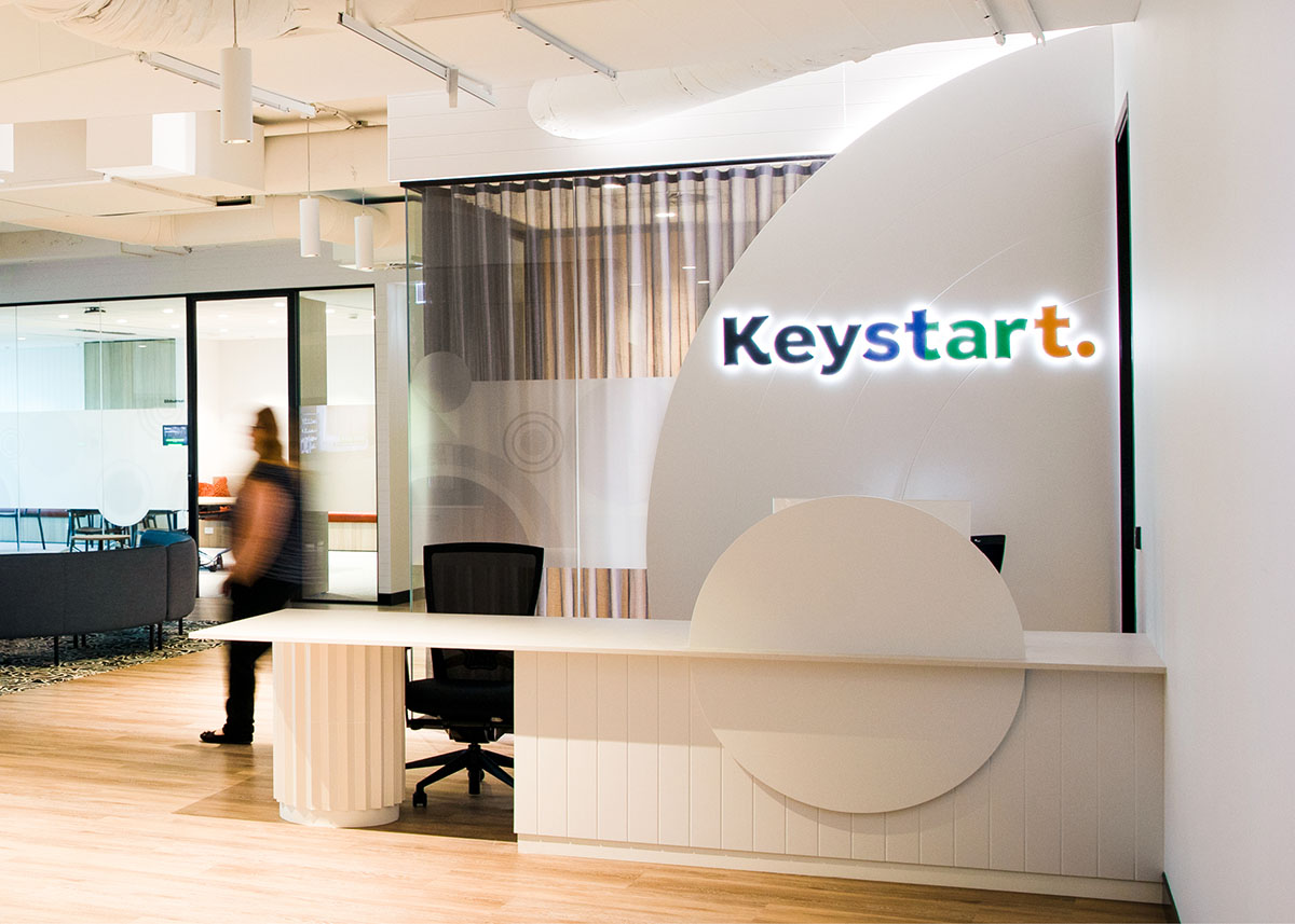 Keystart celebrates new beginnings with a category-breaking brand from The Brand Agency
