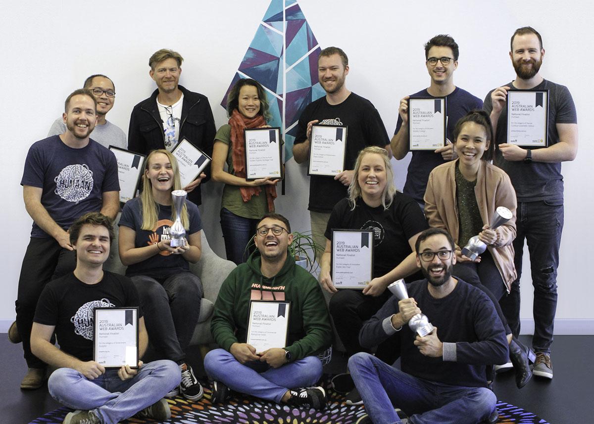 WA Agencies dominate at 2019 Australian Web Awards, led by Humaan with three category wins