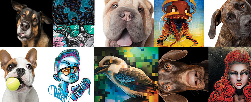Houndstooth v Creatives Collide – this Friday, June 7 at Stala Contemporary Gallery, West Perth