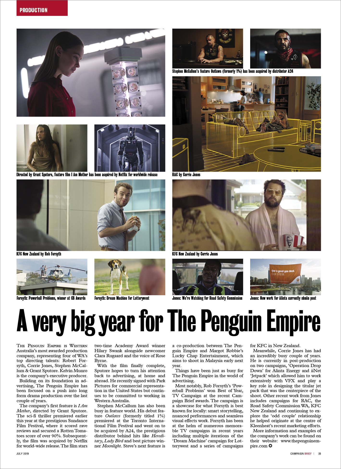 A very big year for The Penguin Empire