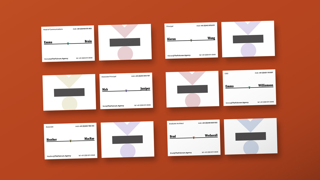 Block develops new branding for acclaimed architecture practice The Fulcrum Agency