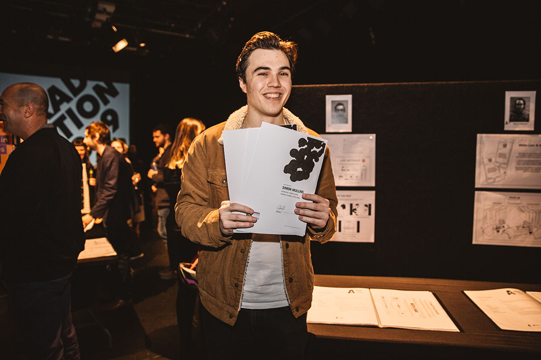 Justin Borromei wins AWARD School 2019 in WA