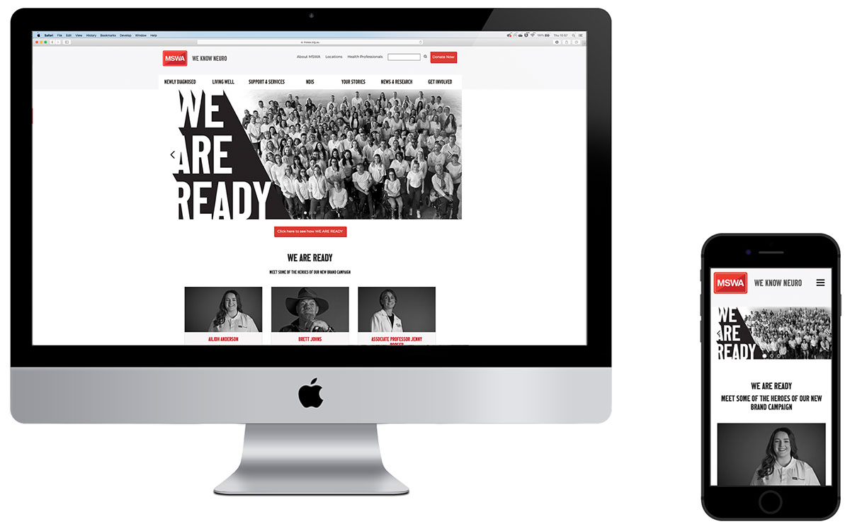 THE BRAND AGENCY RELAUNCHES MSWA.ORG.AU