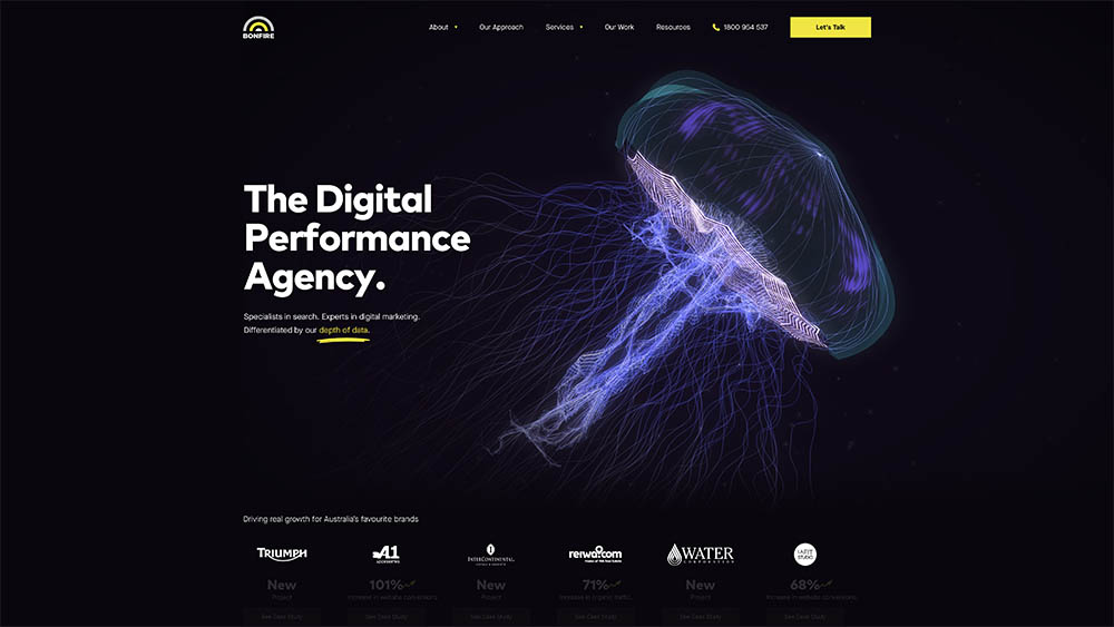 BONFIRE scratches its seven year itch with a new website, fresh tagline and a clearer focus