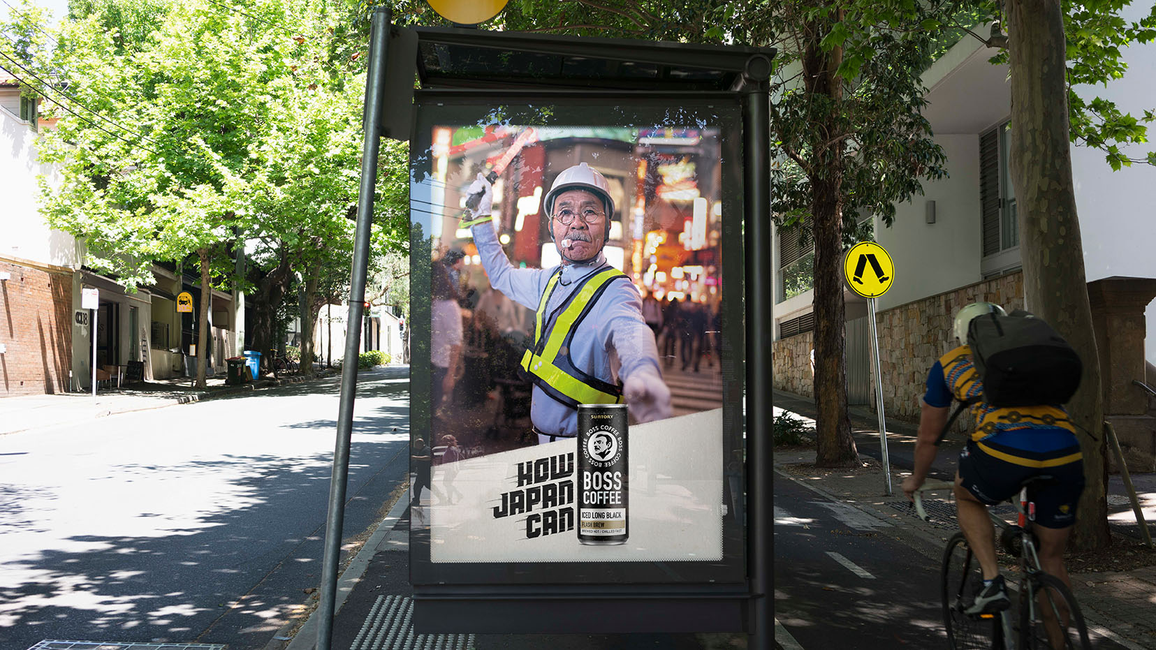 Marketforce collaborates on BOSS Coffee launch campaign via Clemenger BBDO Sydney