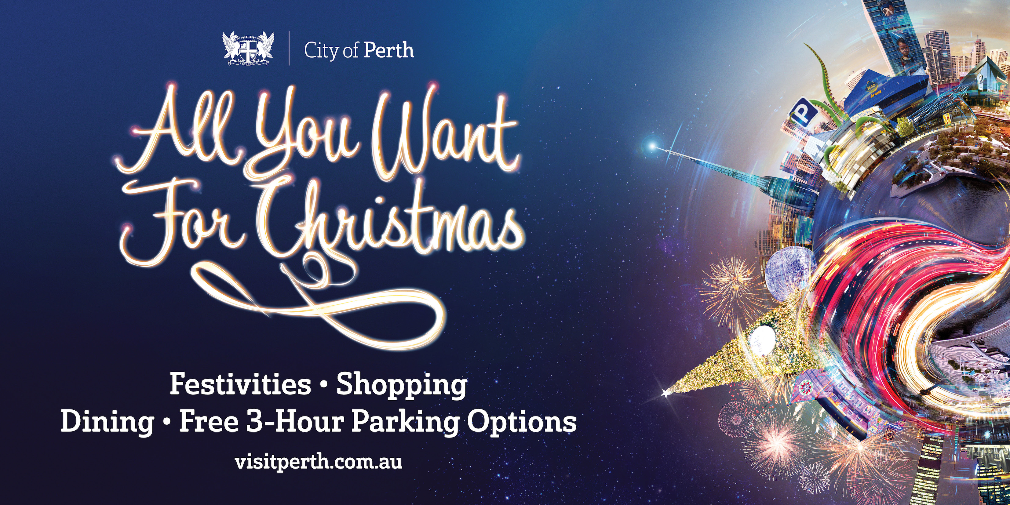 City of Perth has 'All You Want for Christmas' in annual Christmas campaign via 303 MullenLowe