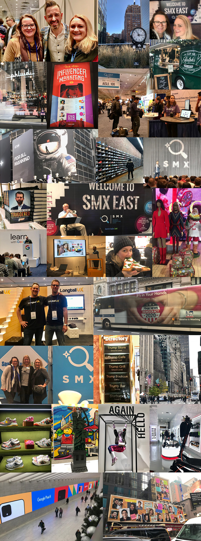 Insights into the latest Search Marketing trends and feeling the vibe at SMX East 2019 in New York
