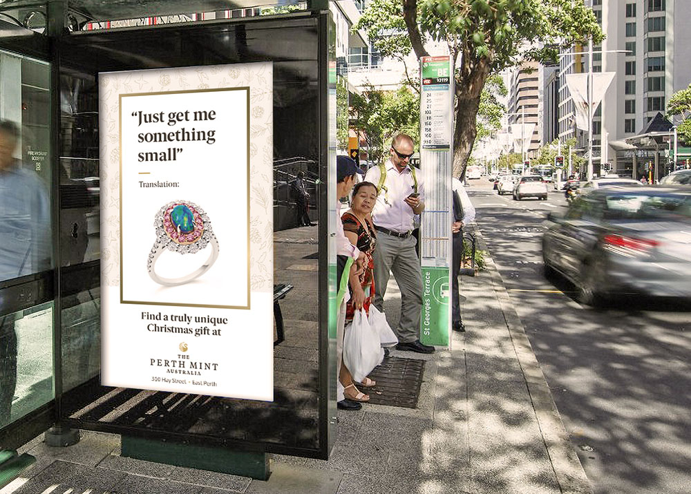 The Brand Agency translates what loved ones really want for Christmas in new campaign for The Perth Mint