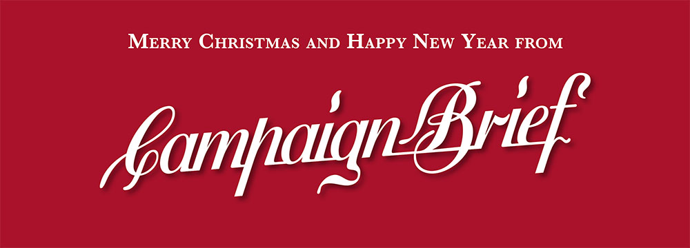 Merry Christmas and thanks to everyone from Campaign Brief WA for another great year