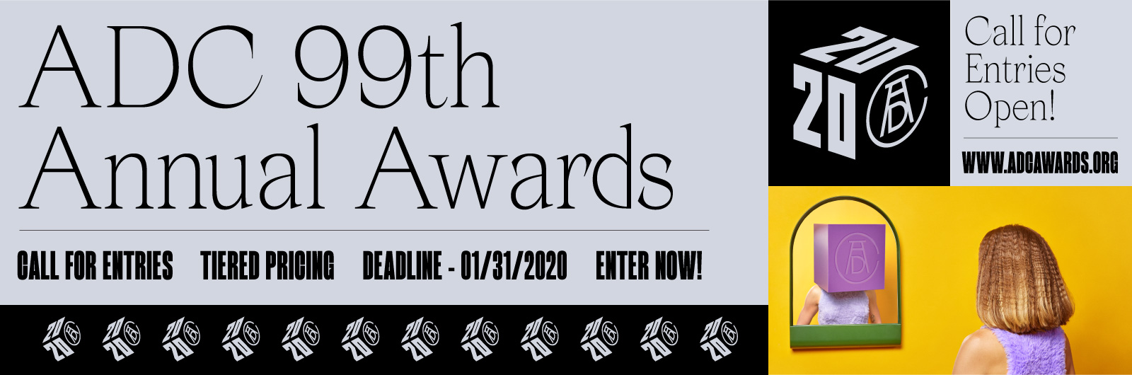 Only two weeks left to enter the ADC 99th Annual Awards – entry deadline Friday, January 31
