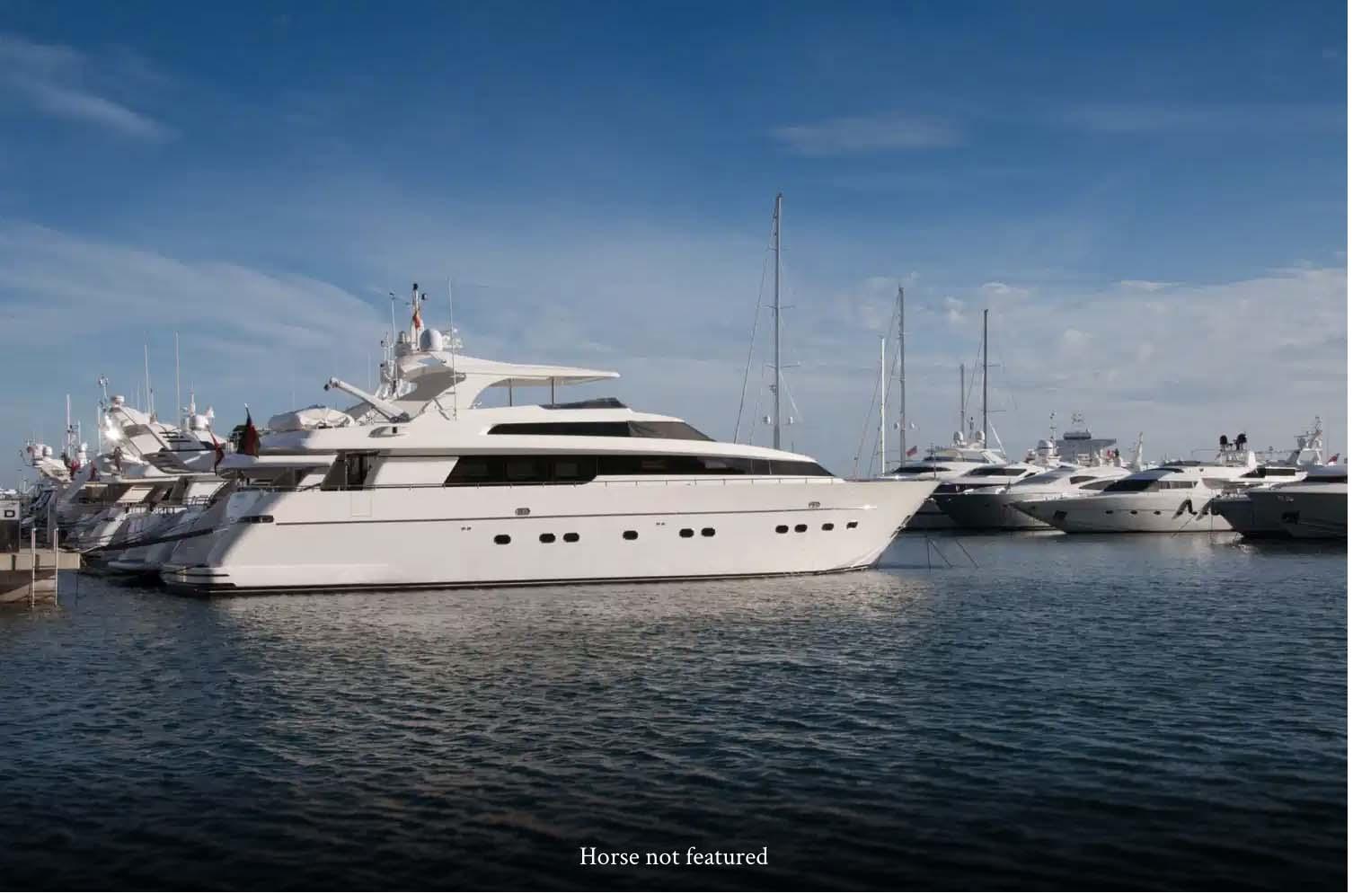 Damon Stapleton: Advertising. Sometimes a yacht needs a horse.