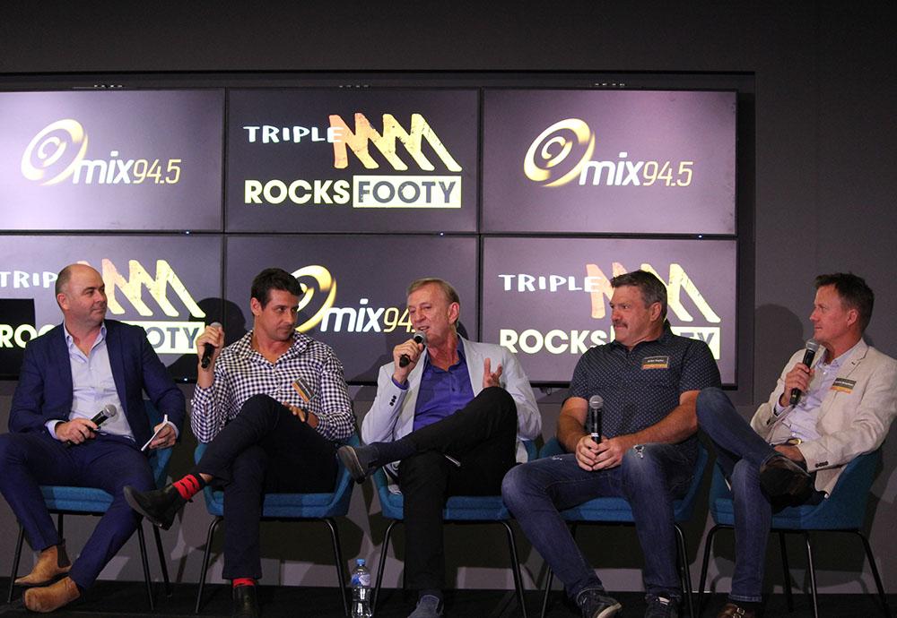 Triple M rocks the Perth footy crowd at mix94.5's AFL 2020 season launch