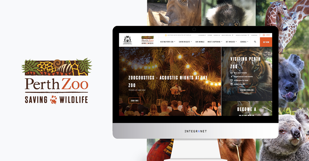 PERTH ZOO LAUNCHES NEW WEBSITE WITH INTEGRANET, TAKING ONLINE SALES TO THE NEXT LEVEL