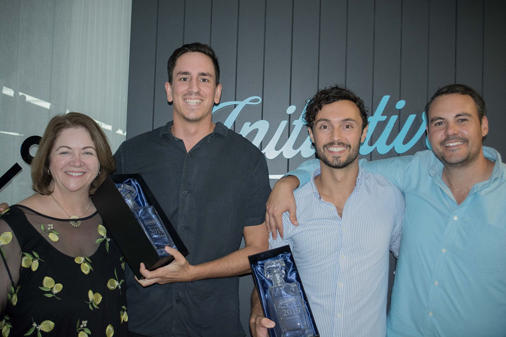 NOVA ENTERTAINMENT'S LUKE KEVIN AND HARRY FITZGERALD TAKE OUT INITIATIVE PERTH'S MEDIA PARTNER OF THE YEAR AWARD FOR 2019