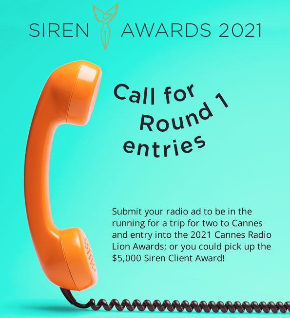Sirens Round 1 now open; deadline Sat, May 2