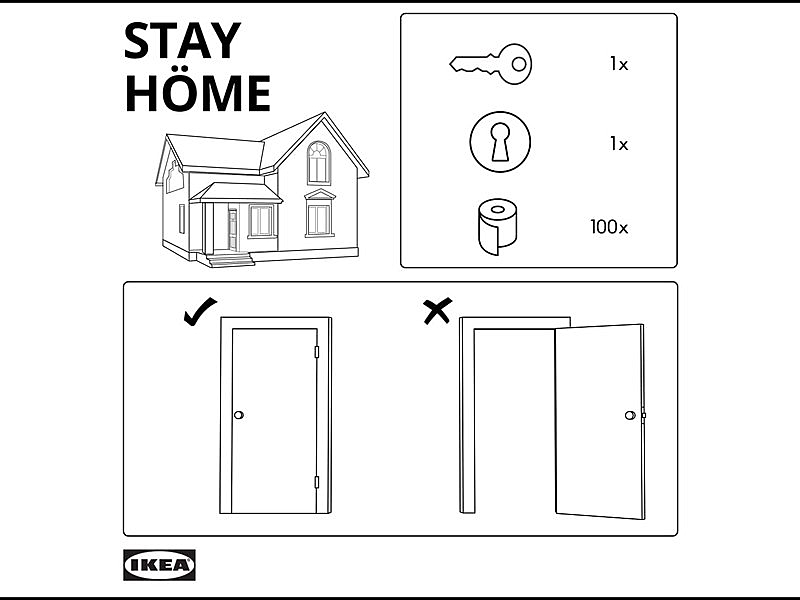 Best Ad of the Day: IKEA 'Stay Home' via  McCann Tel Aviv