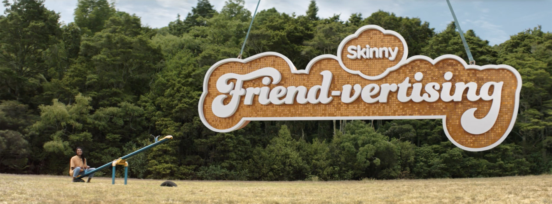 Best Ad of the Day: Skinny 'Friend-vertising' via Colenso BBDO New Zealand
