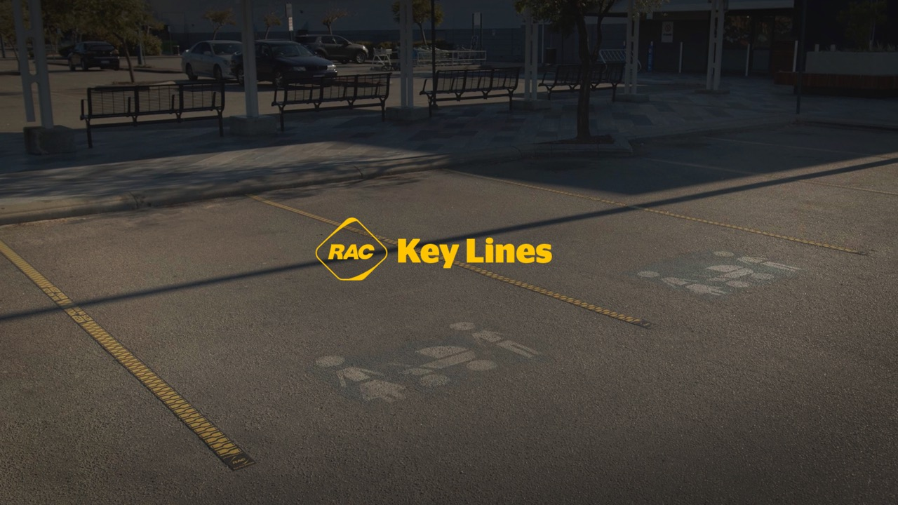 RAC turns car park lines into Key Lines with behaviour change campaign to stop WA kids being locked in cars via Wunderman Thompson, Perth