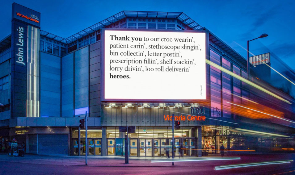 Best Ad of the Day: Outsmart 'Grateful Britain' by Mother London