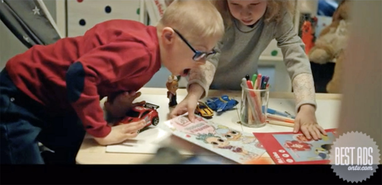 Best Ad of the Day: Naked Heart Foundation '#BornInclusive' via Marvelous, Russia