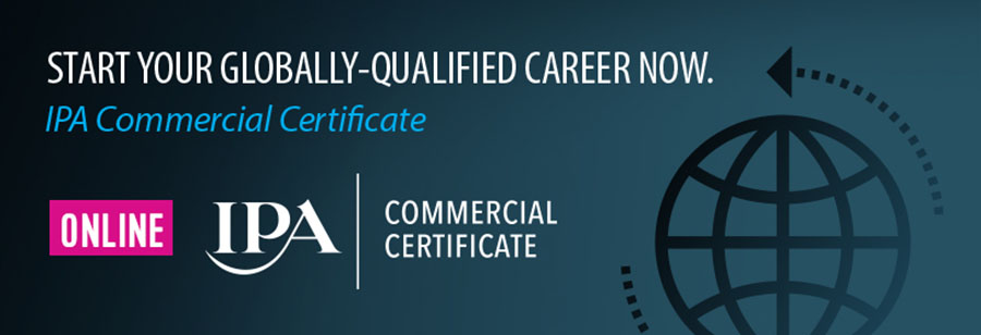 IPA Commercial Certificate Course – Free for April