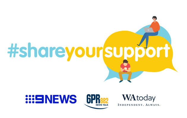 NINE PERTH INVITES THE COMMUNITY TO #SHAREYOURSUPPORT DURING COVID-19