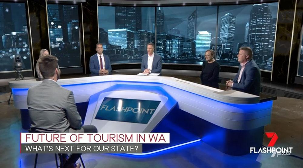 Marketforce's Adam Marshall and Paul Coghlan present tourism TVC on Flashpoint
