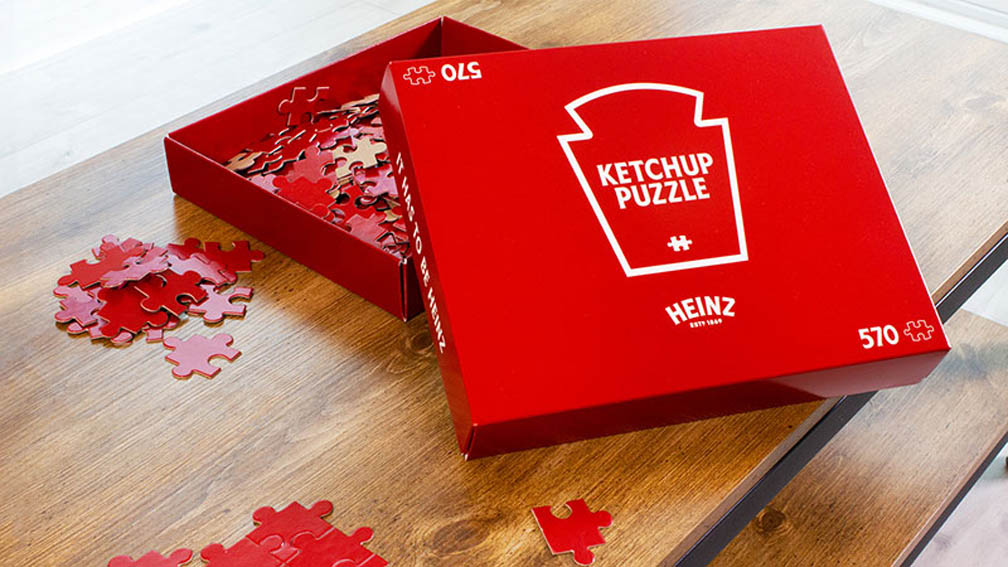 Best Ad of the Day: Heinz Ketchup 'Puzzle' by Rethink Canada