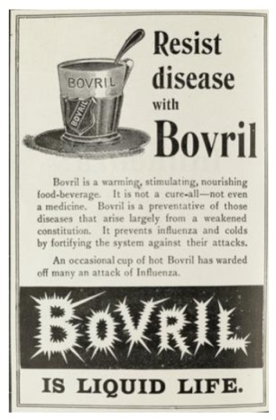 """Eat more onions!"" ~ reflecting on ads that ran during the Spanish Flu more than a century ago"