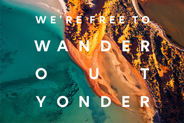 Tourism WA urges locals to 'wander out yonder' in new intrastate campaign via The Monkeys