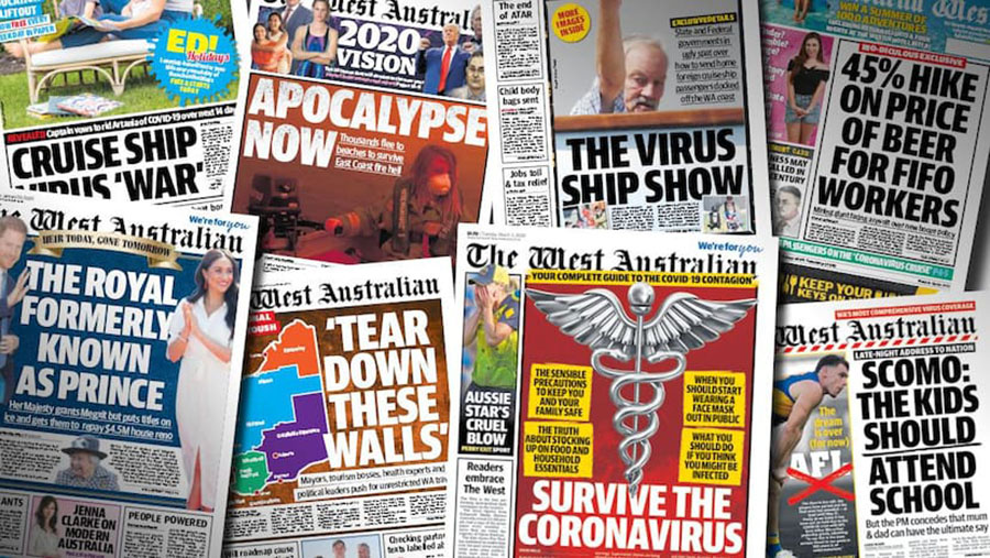 The West Australian grows readership in latest emma survey and reaches 84% of WA