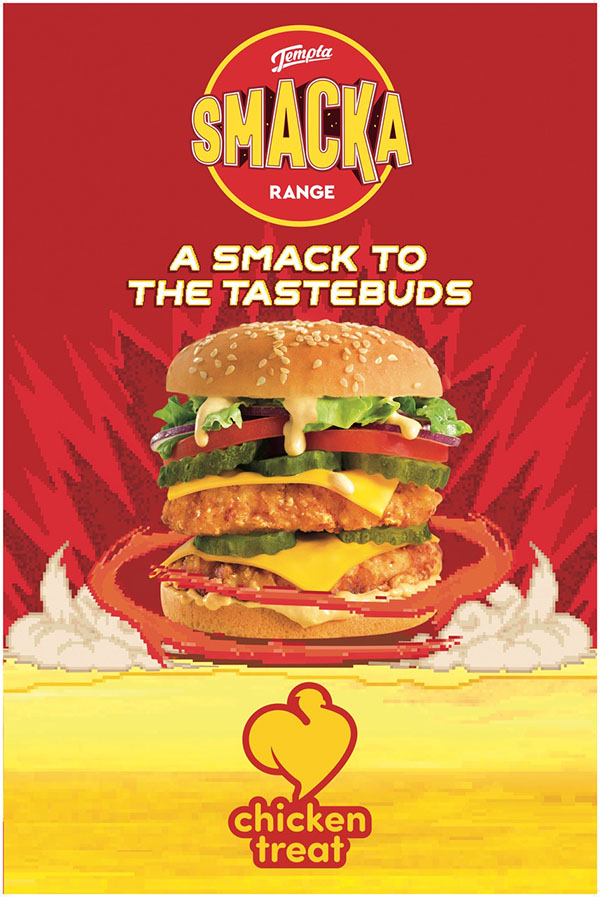 Chicken Treat &Partners new Smacka Range TVC is a roundhouse to the eyeballs