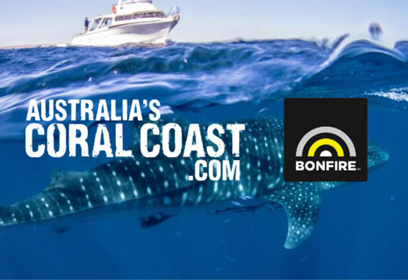Bonfire partners with Australia's Coral Coast to promote local tourism