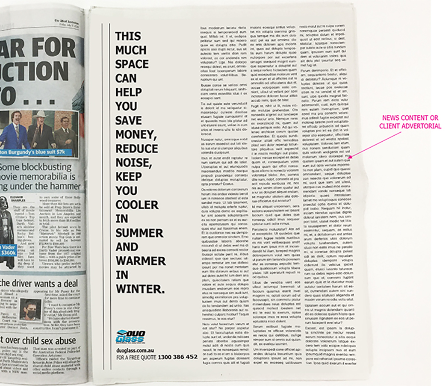 Fifteen agencies step up to the plate in 'Best in The West' newspaper advertising creative exercise