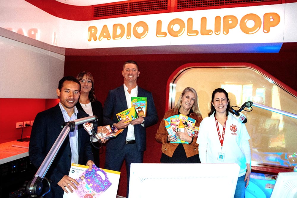 Industry helps sick children get creative