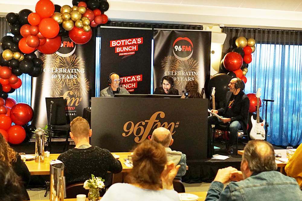 96fm celebrates 40 years with $40,000 cash prize plus Volkswagen giveaway on Botica's Bunch