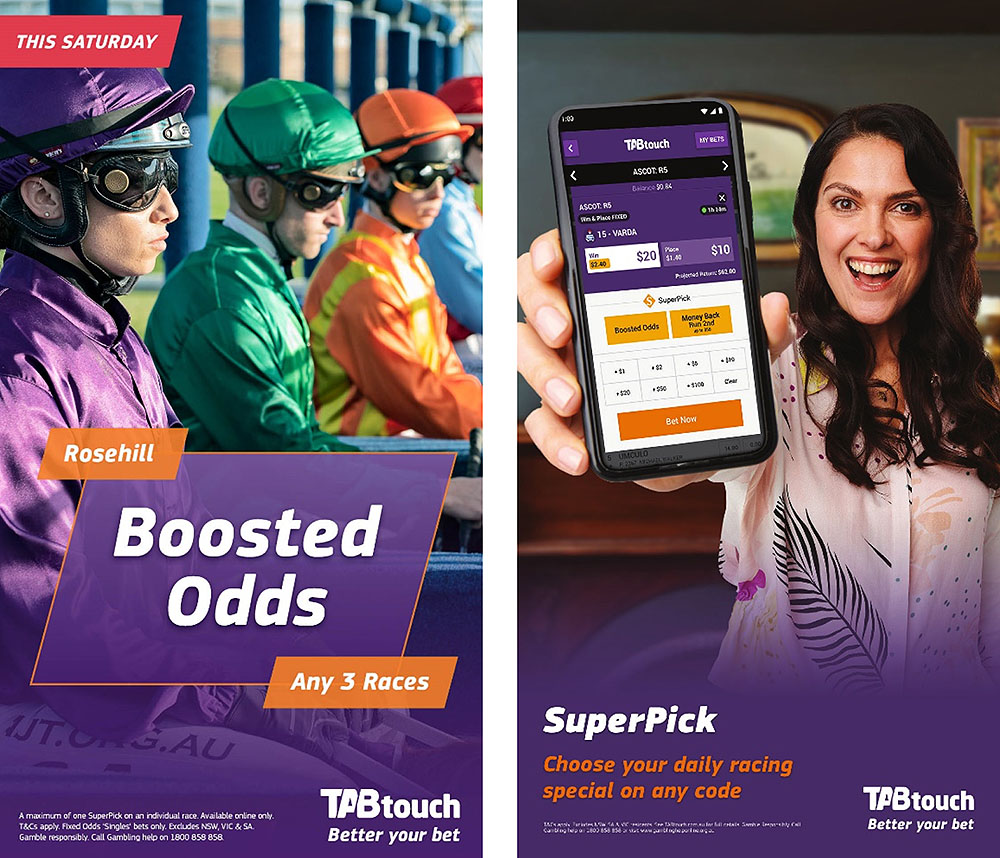 Racing and Wagering WA launches new TABtouch Spring Racing campaign via The Brand Agency