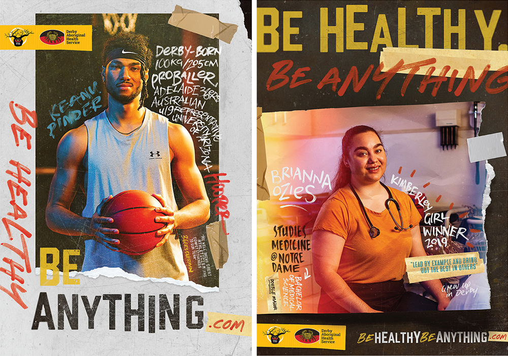 Rhythm heads north to help promote good health for Derby Aboriginal Health Service