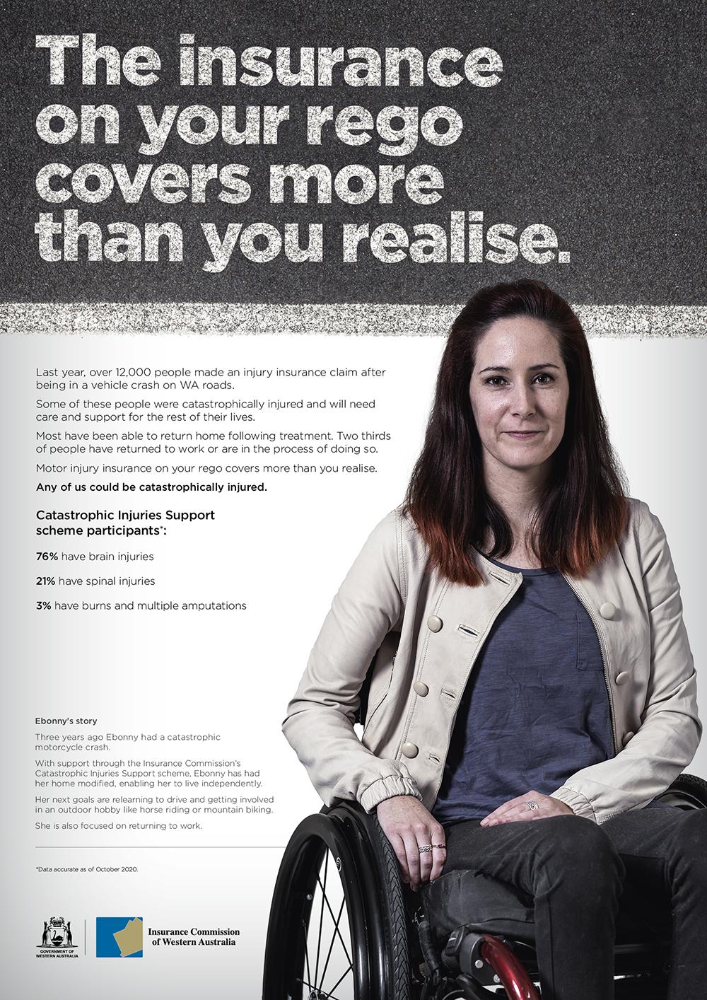 The Insurance Commission evidences the human importance of vehicle rego via Gatecrasher