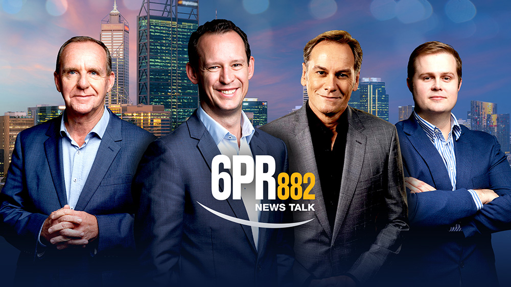 6PR ANNOUNCES NEW ON-AIR LINEUP FOR 2021 as Basil Zempilas leaves his Breakfast role