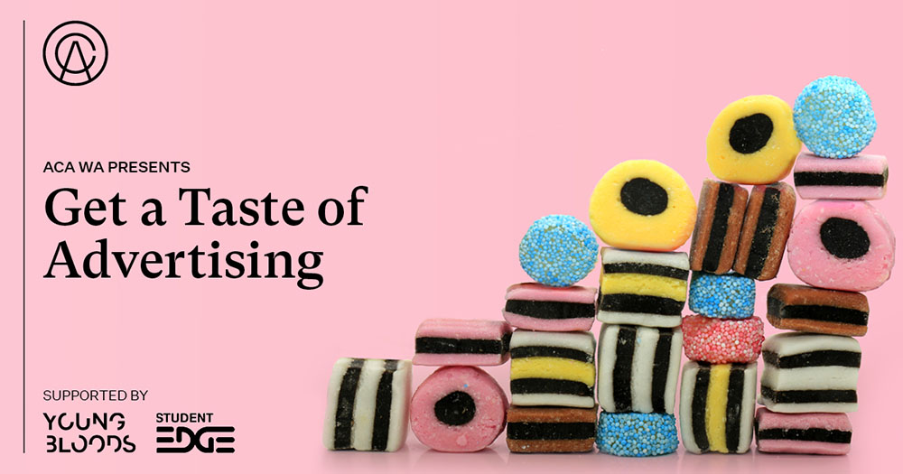 Advertising Council Australia (WA) presents Get a Taste of Advertising – next Thursday, December 3