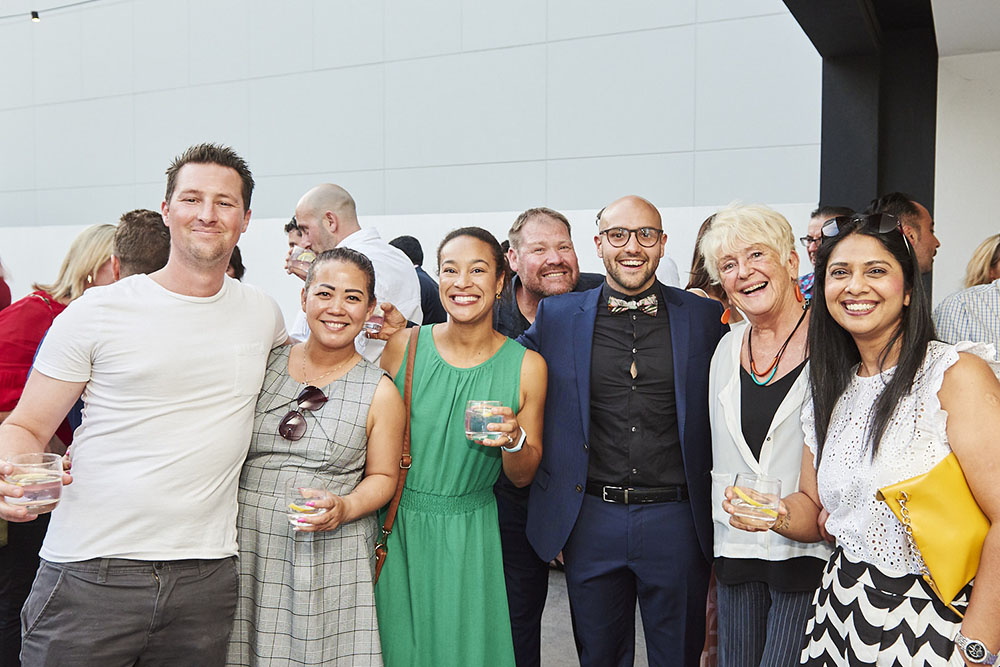 Sunset Soiree event christens Glide's new digs