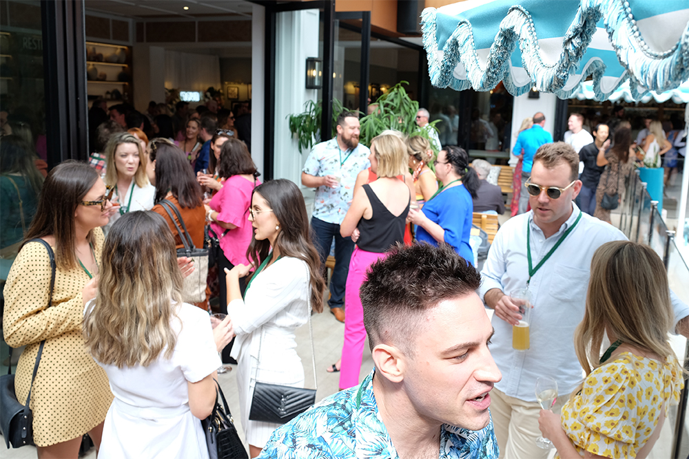 Nova 93.7 hosts clients for 'Spring Soiree' Christmas party at The Hyde