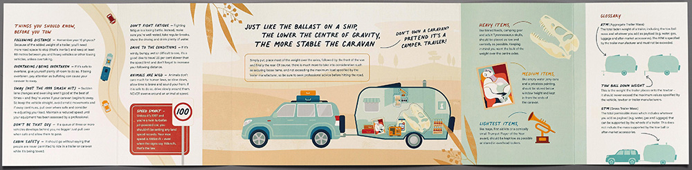 Road Safety Commission urges WA travellers to 'Give a Caradamn' via The Brand Agency